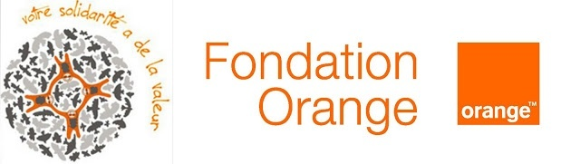 Logo fondation Orange votre solidarite